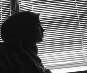 allah, black and white, and bw image
