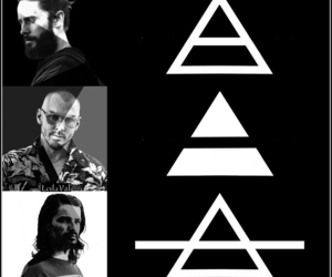 30 seconds to mars, shannon leto, and jared leto image