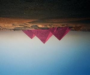 pyramid, pink, and egypt image