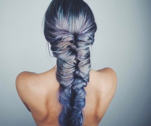 braid, colors, and fashion image