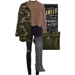 fashion, green, and olive image
