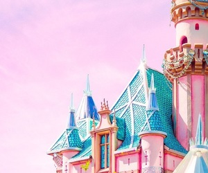 wallpaper, pink, and disney image