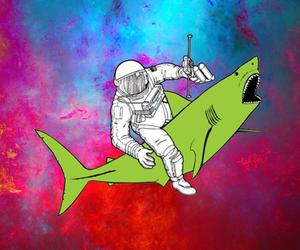 astronaut, colorido, and astronauta image