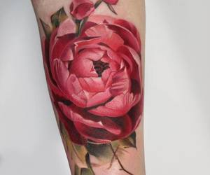 tattoo and floral tattoo image
