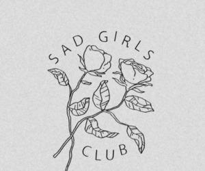 pale, lockscreen, and sad club image