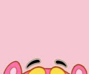 pink, wallpaper, and pink panther image