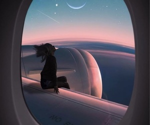 Dream, fly, and high image