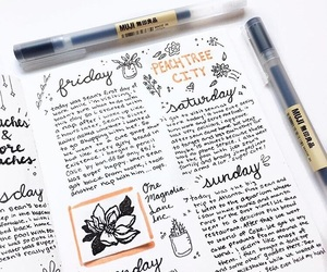 tumblr, studyblr, and bulletjournal image