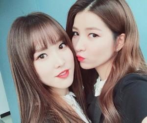 sowon, yuju, and gfriend image