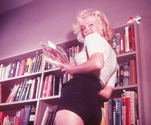 50s, book, and vintage image