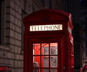 london, telephone, and telephone box image