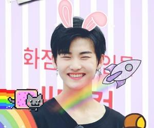 kpop edits, the boyz, and pastel kpop image