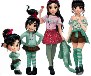 disney, drawing, and vanellope image