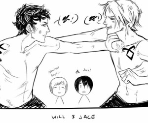 jace, will, and tmi image