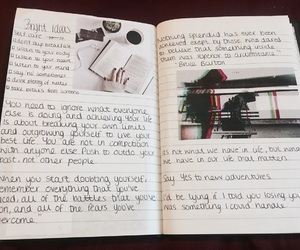 aesthetic, journal, and life image