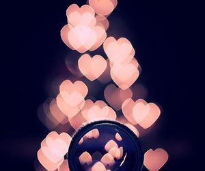 bokeh and hearts image