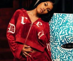 beauty, fashion, and teyana taylor image