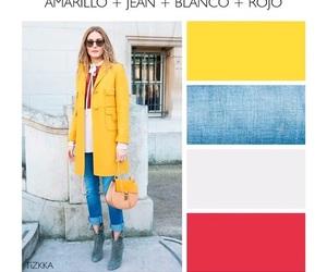 amarillo, outfit, and combinación image