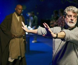 behind the scenes, george lucas, and star wars image