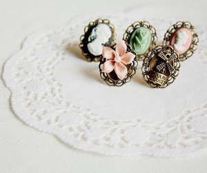 rings, vintage, and ring image