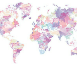 pink, tumblr, and world image