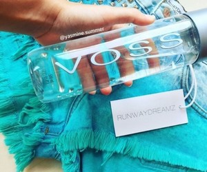 blue, shorts, and voss image