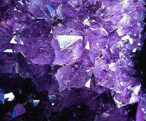 purple, crystal, and amethyst image