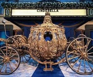 carriage, fairytale, and cinderella image