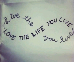love, life, and live image