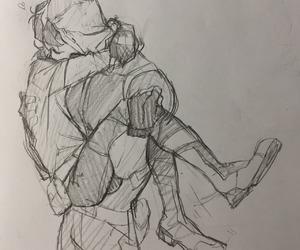 keith, kiss, and shiro image