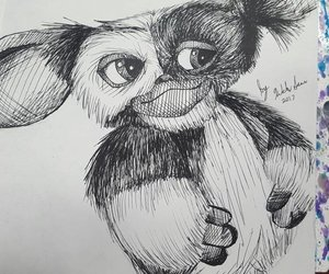 drawing, gizmo, and gremlins image