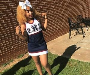 cheer, school, and baddie image