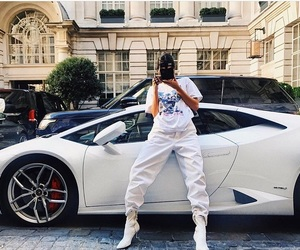 kendall jenner, model, and car image