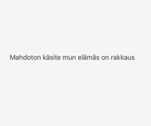finnish, suomeksi, and sanoja image