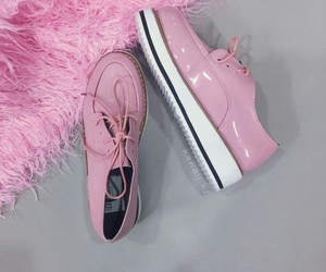 kawaii, pink, and shoes image
