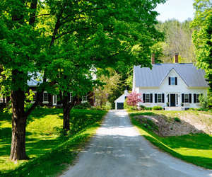 country living, dream house, and farm image