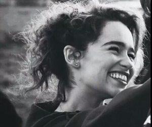 emilia clarke, smile, and happy image