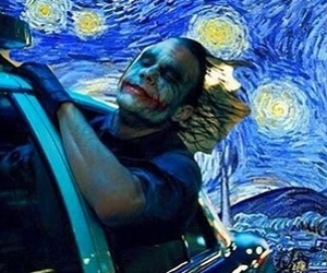 batman, heath ledger, and joker image