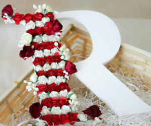 flower, Letter, and r image