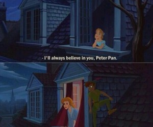 peter pan, wendy, and believe image