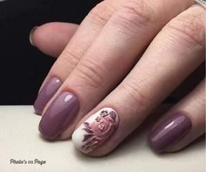 fashion, makeup, and nail image