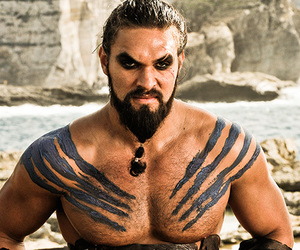 game of thrones, khal drogo, and drogo image