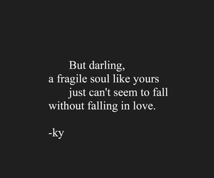 broken heart, falling in love, and feelings quotes image