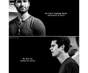 teen wolf, tyler hoechlin, and dylan o brien image