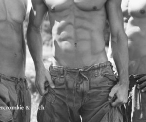 sixpack and abercrombie models image