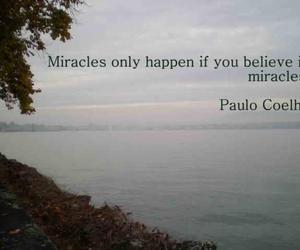 miracle, paulo coelho, and quote image