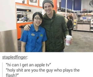 tumblr, the flash, and barry allen image