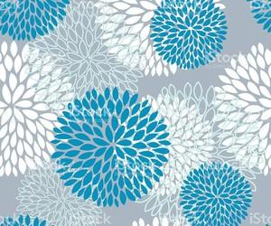 blue, dahlia, and dahlias image