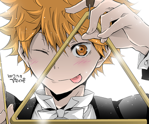 anime, haikyuu, and haikyu image