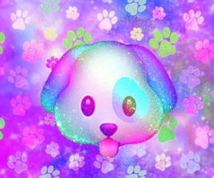 colorful, cute puppy, and dog image